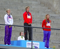 Steffi Nerius. World Champion 2009, Berlin