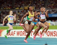 Veronica Campbell-Brown. 200 m World Champs, Daegu 2011