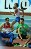 """Русская Зима"" IAAF Indoor Permit Meetings. Шест. Лукьяненко Евгений и Грипич Александр"