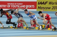 Liu Xiang. 60 m hurdles World Indoor Champs Silver Medallist, Istanbul 2012
