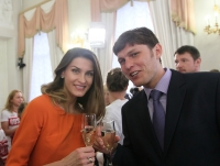 Ivan Ukhov. With Anna Chicherova