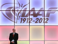 IAAF Centenary Gala Show. World Athletes of the Year for 2012. The awards were hosted by International Athletic Foundation (IAF) Honorary President HSH Prince Albert II of Monaco