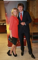 Ivan Ukhov. Barselona, Spain. IAAF Centenary Gala Show. World Athletes of the Year for 2012. With Polina Ukhova