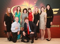 Ivan Ukhov. Barselona, Spain. IAAF Centenary Gala Show. World Athletes of the Year for 2012. With Vasiliy Avramenko, Tatyana Lebedeva, Yelena Lashmanova, Yuliya Zaripova, Svetlana Masterkova, Anna Chicherova, Yelena Isinbayeva, Tatyana Lysenko, Polina Ukhova