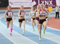 Russian Indoor Championships 2014, Moscow, RUS. 2 Day. 400 metres Final