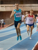 Russian Indoor Championships 2014, Moscow, RUS. 2 Day. 800m Champion Stepan Poistogov