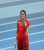 World Indoor Championships 2014, Sopot. High Jump. Women. Qualification. Ruth Beitia, ESP