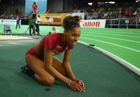 Yulima Rojas. World Indoor Champion 2016
