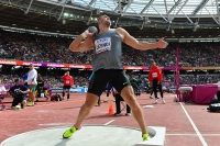 IAAF WORLD CHAMPIONSHIPS LONDON 2017. Aleksandr Lesnoy