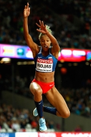 Yulima Rojas. Triple Jump World Champion 2017, London