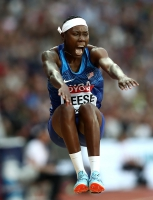 Brittney Reese. Long Jump World Champion 2017, London