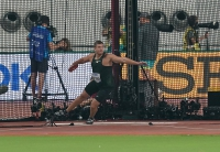 IAAF WORLD ATHLETICS CHAMPIONSHIPS, DOHA 2019. Day 2. Discus Throw. Qualification. Aleksey KHUDYAKOV