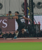 IAAF WORLD ATHLETICS CHAMPIONSHIPS, DOHA 2019. Day 2. Discus Throw. Qualification. Ehsan HADADI, IRI