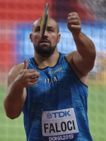 IAAF WORLD ATHLETICS CHAMPIONSHIPS, DOHA 2019. Day 2. Discus Throw. Qualification. Giovanni FALOCI, ITA